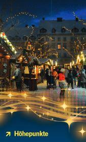 Weihnachtsmarkt-Faltblatt